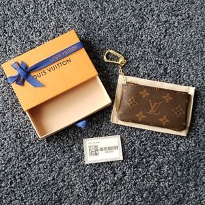 Louis Vuitton Box and Dust Bag for Key Pouch